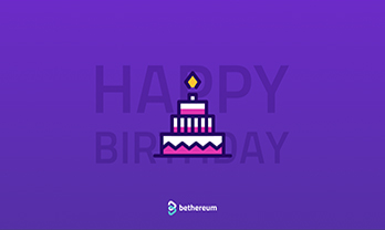 Happy birthday Bethereum article